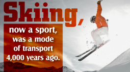 Interesting and weird facts about skiing