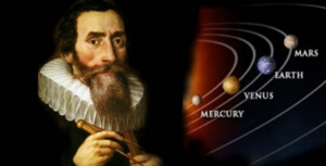 Johannes Kepler and his love for astronomy