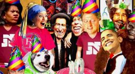 funny celebrity party